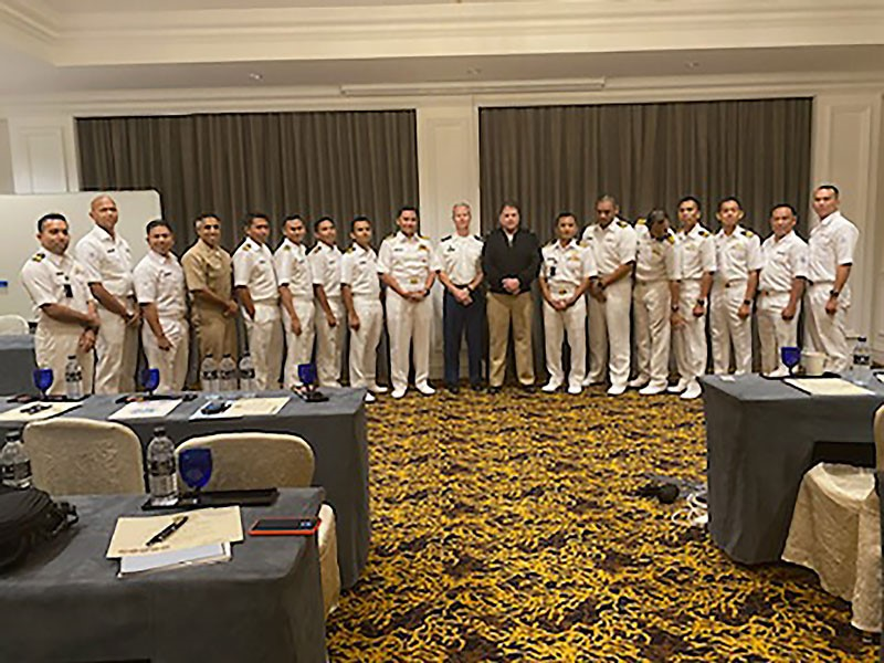 George Brauchler, district attorney and military judge, conducts human rights training in Malaysia