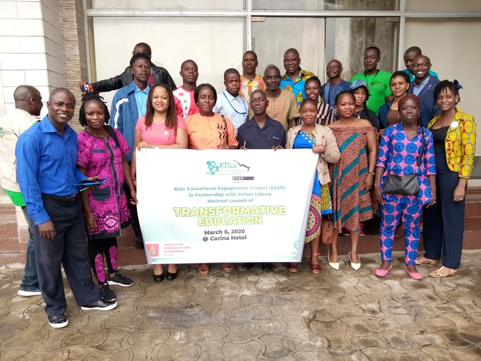Oxfam and Kids Educational Engagement Project promote human rights education in Liberia