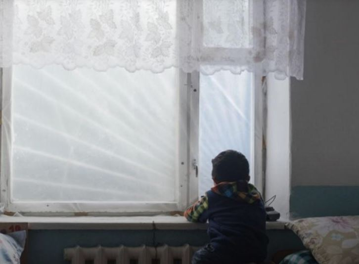 Young child Adinai, five years old, does not speak because her parents lack access to speech therapy.