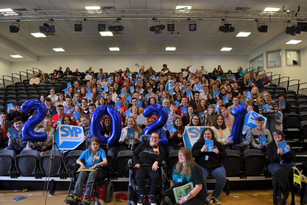 The Members of the Scottish Youth Parliament for 2021