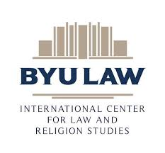 The logo for the Brigham Young University International Center for Law and Religious Studies