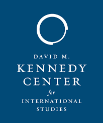 The logo for the David M. Kennedy Center for International Studies
